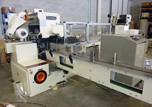 Immagine 1 595 - Cassoli wrapping machine mod PAC340