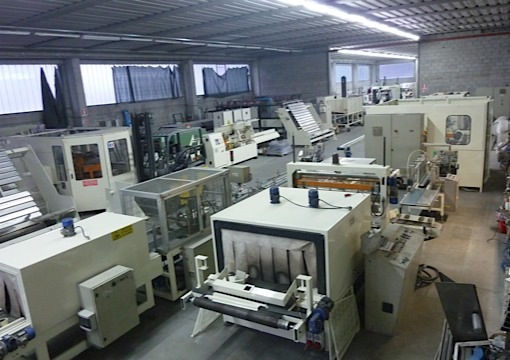Immagine 1 552 - Full line for the production of industrial rolls