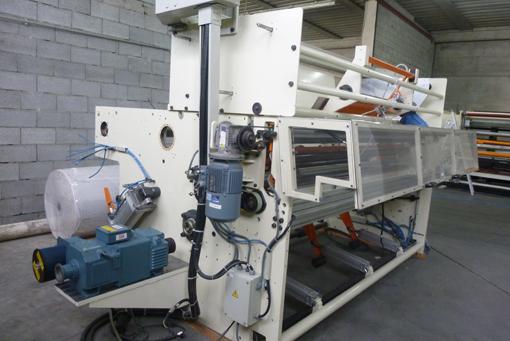 Immagine 1 592 - Ribobinatrice Perini semiautomatica modello701G