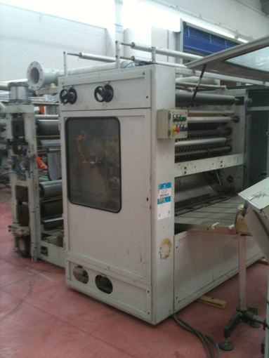 Immagine 1 574B - Semi automatic MTC interfolder line