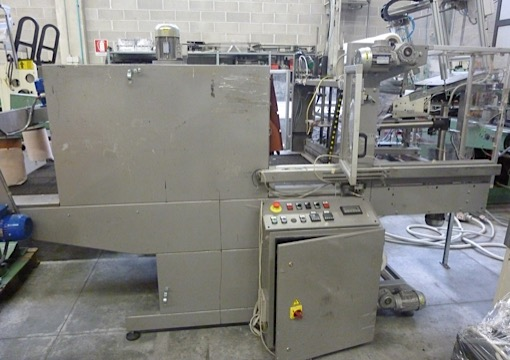Immagine 1 605A - Automatic shrink tunel Interbidipack mod Ecopack 1100