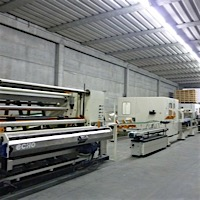Immagine 2 552 - Full line for the production of industrial rolls